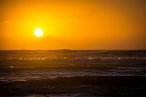 O amanhecer mais lindo do Litoral Norte Gaúcho