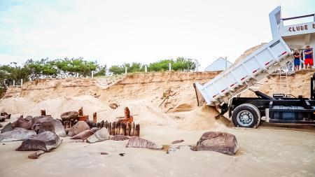 Reposição de Dunas à Beira-Mar